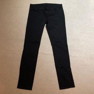 J Brand The Skinny Jean in Shadow